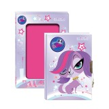 Pam�tn�k so z�mkom A5 LITTLEST PET SHOP