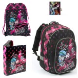 �kolsk� set MONSTER HIGH II. 4 dielny