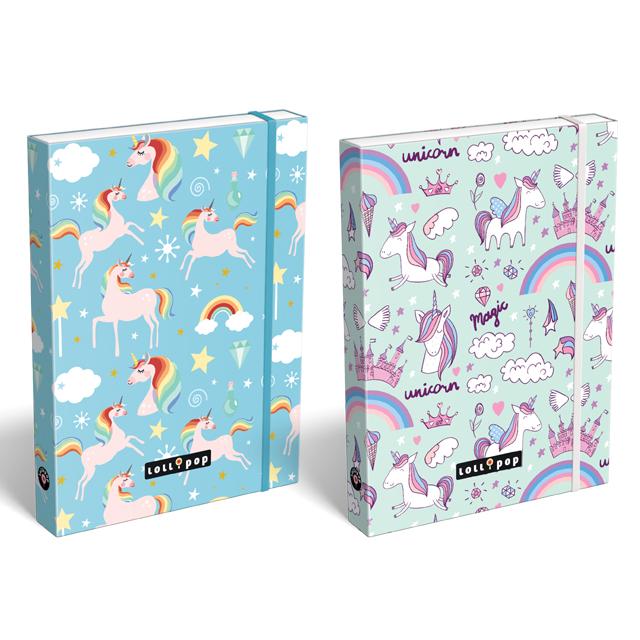 863485f044 Školský box na zošity A4 Unicorn