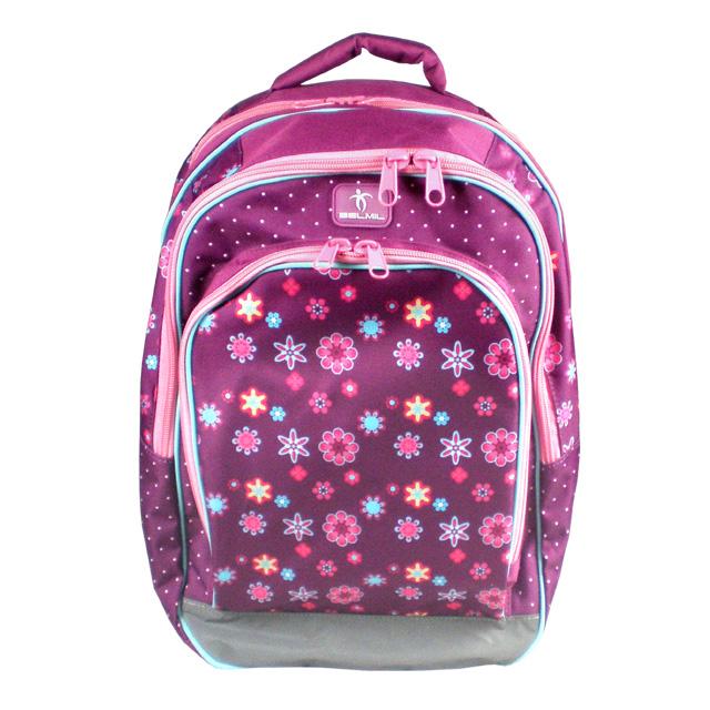 7909e2a490 Školský batoh BELMIL Flower Pattern