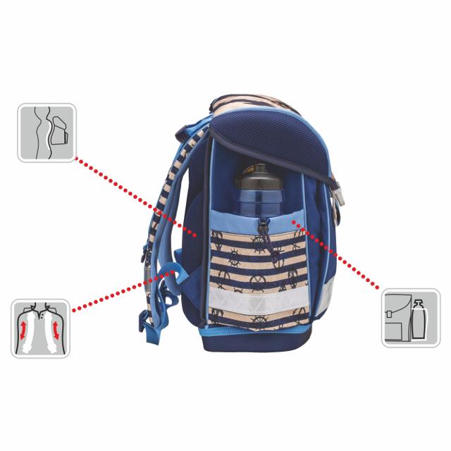 4de614bca Školská taška Belmil Prima Balerina. Akcia -9%. detailná fotka zobrazuje  ten istý tovar, len s iným motívom