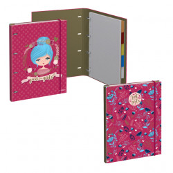 Krúžkový blok s blokom Just 4 Girls