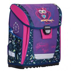 b057501589 Kompaktná školská taška REYBAG Owl Dreams